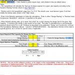 Pile Driving Set Calculator Spreadsheet