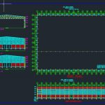 Steel Factory architecture Plan Autocad Free Drawing