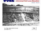 Universal Soil Loss Equation Spreadsheet