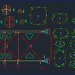 VL Bracing Details Autocad Free Drawing
