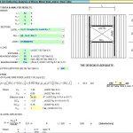 Wind Girt Deflection Analysis of Wood, Metal Stud and Steel Tube Spreadsheet