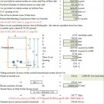 Base Slab Crack Calculation As per IS 456 Spreadsheet