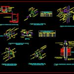 Chilled Water Piping Detail Autocad Free Drawing