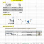 Design of HRT Section Spreadsheet