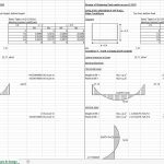 Design of Retaining and Tank Walls Spreadsheet