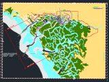 Marine Port Digital Chart Autocad Free Drawing