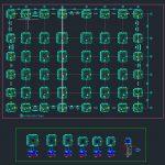 Precast Piles Reinforcement Details Autocad Free Drawing