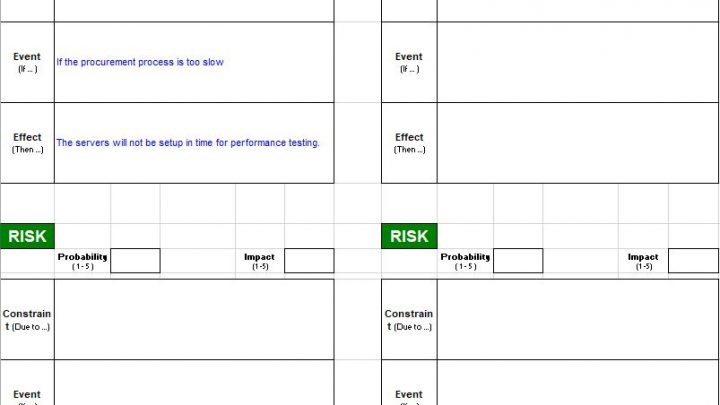 Risk Management Tools Spreadsheet