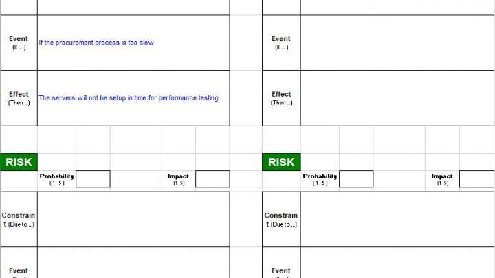 Risk Management Tools Spreadsheet