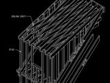 Shed Dormer Wood Roof Framing Autocad Drawing