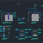 Curtain Wall and Cladding Typical Details Autocad Drawing