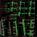 Precast Concrete Walls Details Autocad Drawing