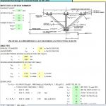Suspended Anchorage to Concrete Spreadsheet