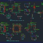 Typical Soakaway Sections and Details Autocad Drawing