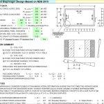 Wood Diaphragm Design Based on NDS 2015 Spreadsheet