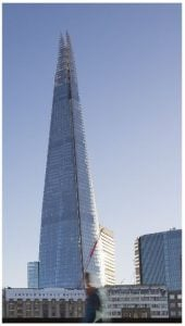 The Shard.(Adapted and reuse with the permission of Asset bank, City, Universityof London)