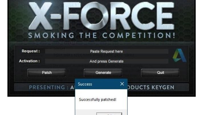 x-Force keygen for ALL Autodesk products v2021
