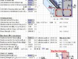 Design of Beam Ledge According to ACI 318-99 Spreadsheet