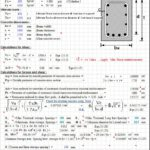 Design For Torsion And Shear According To ACI 318-99 Spreadsheet