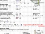 Design Of Monolithic Corbels And Brackets According To ACI 318-99 Spreadsheet