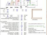 Basement Wall Design Spreadsheet