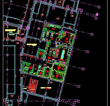 Bakery Layout Plan Free Autocad File