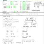 Design for Concrete Beam With Penetration Spreadsheet