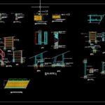 Handrail Walkway Platform Free Autocad File