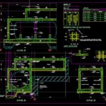 Oil Tank Sections Details Autocad Free File