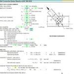Bolt Connection Design Spreadsheet Based on AISC