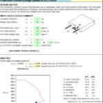 Plate-Shell Element Design Spreadsheet