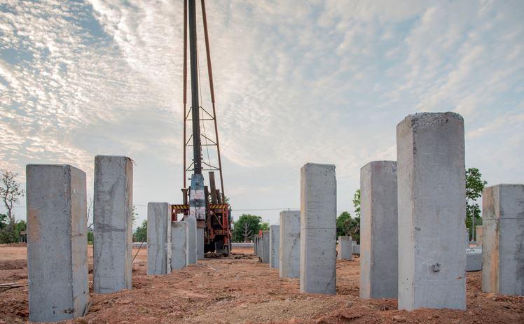 Large-displacement piles Advantages and Disadvantages