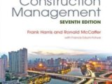 Modern Construction Management - Seventh Edition Free PDF