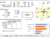 Pads Foundation Design to BS 8110 Spreadsheet