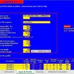 Pile Group Settlement Estimation Spreadsheet