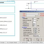 Channels Calculation With Constant Manning's Coefficient Spreadsheet