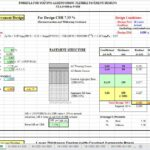 Flexible Pavement Design And Calculation According to AASHTO Spreadsheet