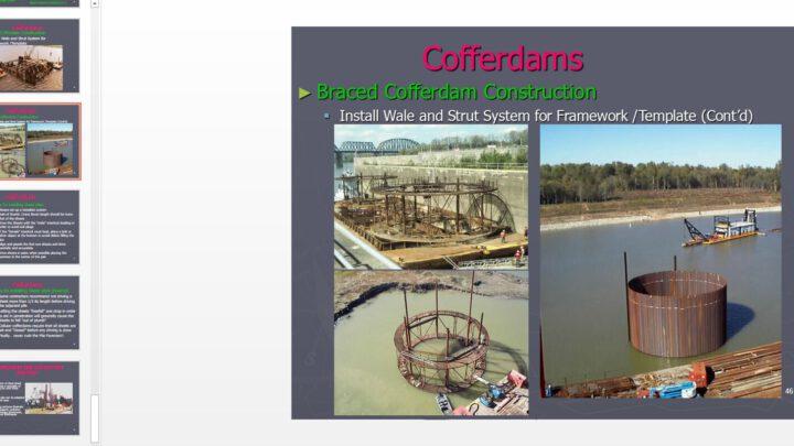 Cofferdams Powerpoint Presentation