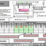 Compabloc Foundation Design Spreadsheet
