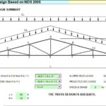 Wood Truss Design Spreadsheet