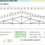 Wood Truss Design Spreadsheet