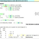 Seismic Bi-axial Moment Frame Design Spreadsheet