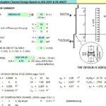 Wall Stud & Compensation Channel Design Spreadsheet