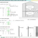 Development and Splice Of Reinforcement In Masonry Spreadsheet
