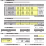 Structural Analysis Of Building Offices Spreadsheet