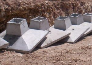Sloped Footing Foundation