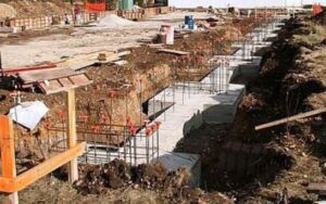 Strap Footing Foundation
