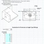 Angle Type Tension Fitting Calculation Spreadsheet