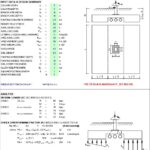 Design Of Footing At Piping Based On ACI 318-14 Spreadsheet