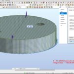 Designing and Analysis of Storage Water Tank in Robot Structural Analysis Professional 2022
